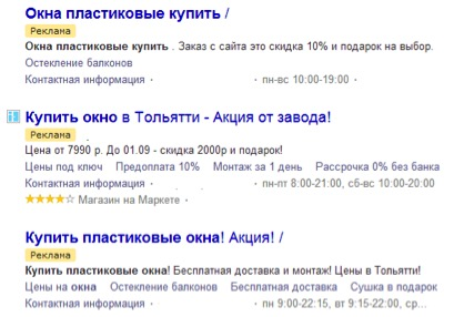 Анализ конкурентов Яндекс Директ