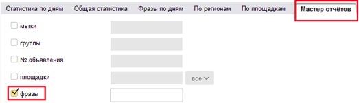 Анализировать Яндекс директ