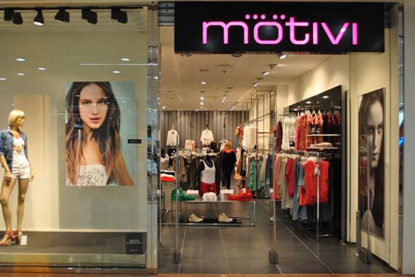 Франшиза - Motivi - магазин модной одежды