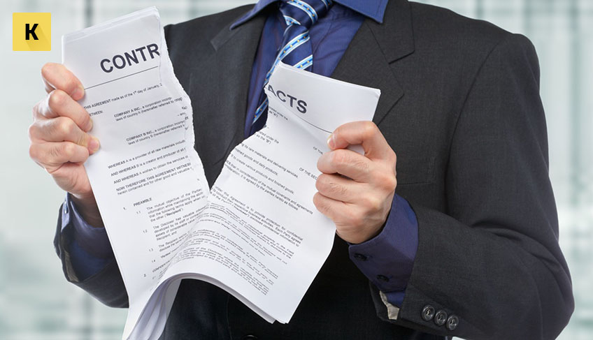 За какое время необходимо уведомить работника о расторжении трудового договора