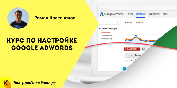 Курс по настройке google adwords
