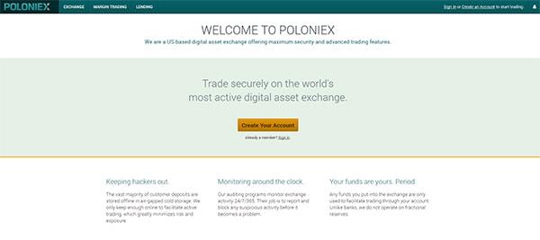 Биржа криптовалют Полоникс