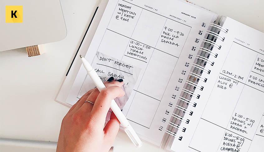 Планирование времени рабочего дня правила, методы и ошибки