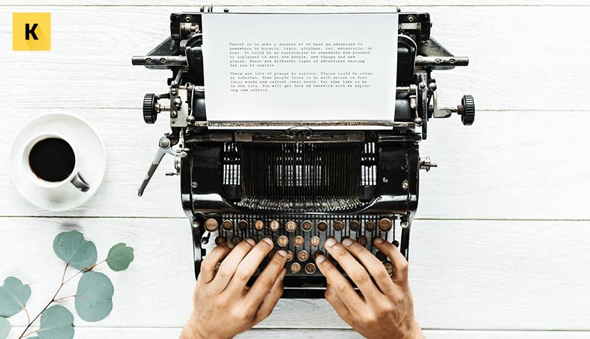 Профессия печатать текст