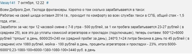 Отзыв №1 о заработке в Яндекс Такси