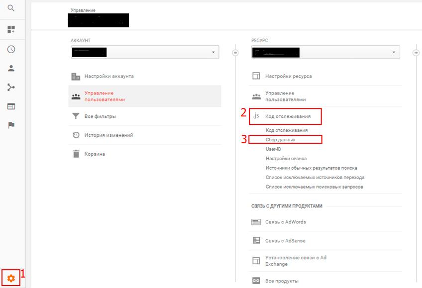 Сбор данных в Google