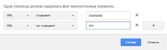 Анализ данных в Google №1