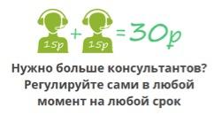 кнопка онлайн консультант для сайта