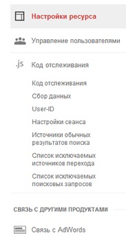 Google Analytics на сайт